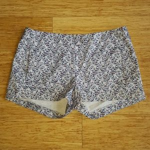 J. Crew Floral Summer Casual Shorts Size 4